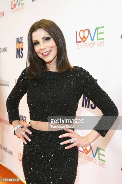 TV personality Heather Dubrow attends the 24th Annual Race To Erase MS Gala at The Beverly Hilton Hotel on May 5 2017 in Beverly Hills California