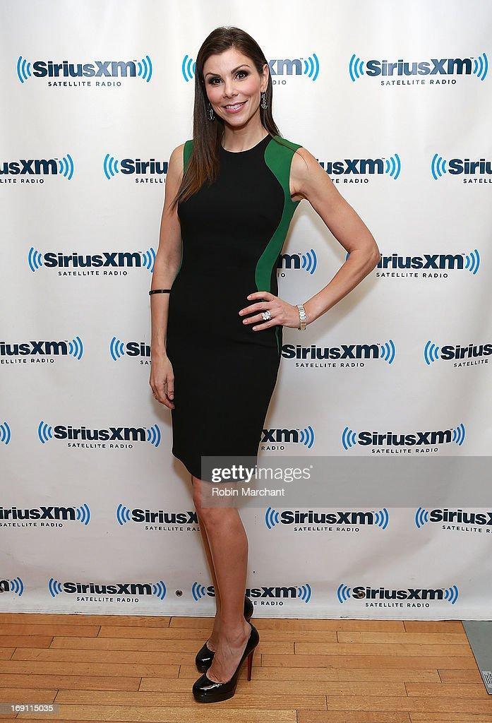 Celebrities Visit SiriusXM Studios - May 20, 2013 : News Photo