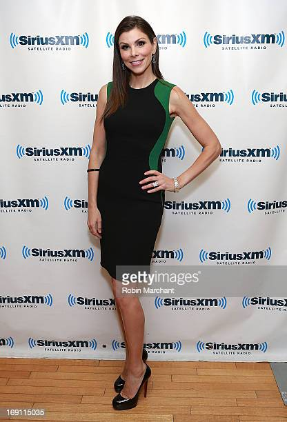 TV personality Heather Dubrow visits at SiriusXM Studios on May 20 2013 in New York City