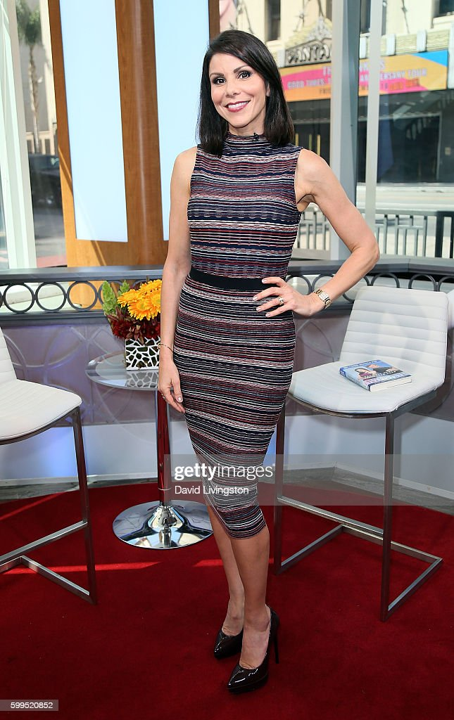 Heather Dubrow Visits Hollywood Today Live