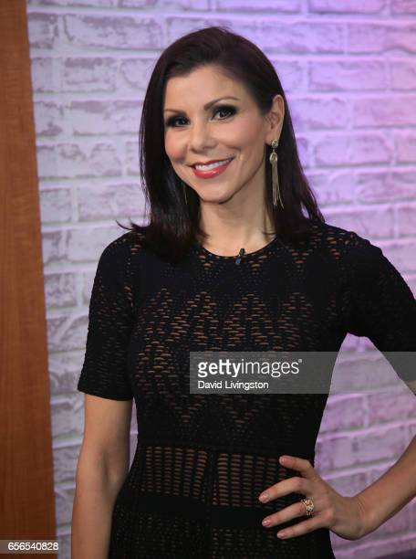 TV personality Heather Dubrow visits Hollywood Today Live at W Hollywood on March 22 2017 in Hollywood California