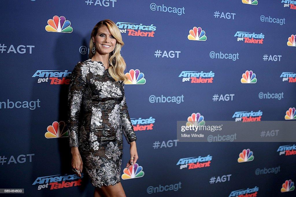 "NBC's ""America's Got Talent"" Season 11 Live Show : News Photo"