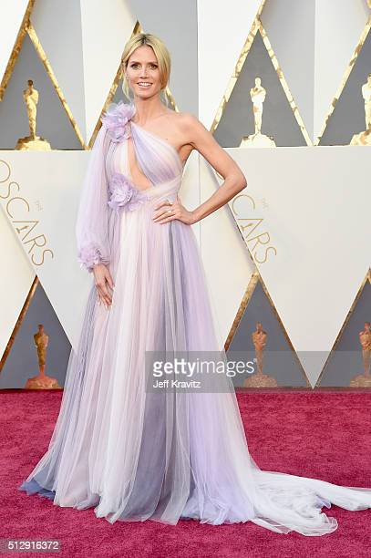 TV personality Heidi Klum attends the 88th Annual Academy Awards at Hollywood Highland Center on February 28 2016 in Hollywood California