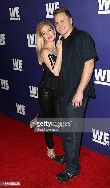 """Personality Heidi Montag and husband TV personality Spencer Pratt attend """"The Evolution of the Relationship Reality Show"""" presented by WE tv at The..."""