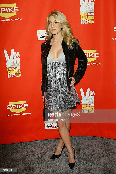 Personality Heidi Montag arrives at Spike TV's 5th Annual Video Game Awards held at Mandalay Bay Events Center on December 7 2007 in Las Vegas Nevada