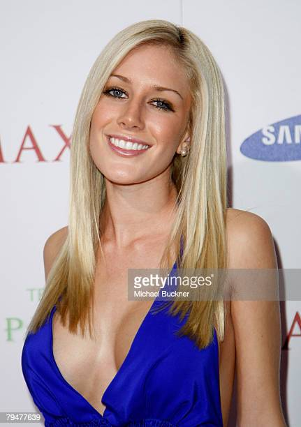 Personality Heidi Montag attends MAXIM Magazine kicks off Super Bowl weekend at Grand Opening of Stone Rose at the Fairmont Scottsdale Princess...