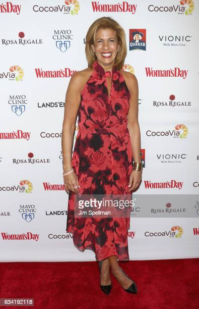 TV personality Hoda Kotb attends the 14th annual Woman's Day Red Dress Awards at Jazz at Lincoln Center on February 7 2017 in New York City