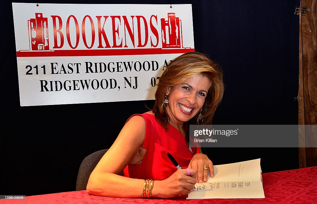 "Hoda Kotb Signs Copies Of Her Book ""Ten Years Later"""