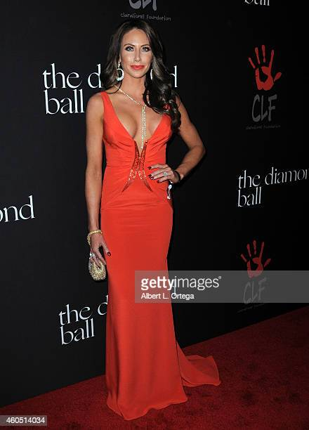 Personality Holly Saunders at Rihanna's 1st Annual Diamond Ball Benefitting The Clara Lionel Foundation held at The Vineyard on December 11, 2014 in...