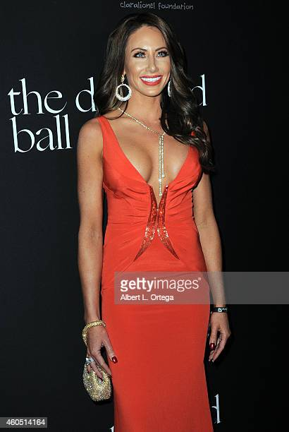TV personality Holly Saunders at Rihanna's 1st Annual Diamond Ball Benefitting The Clara Lionel Foundation held at The Vineyard on December 11 2014...