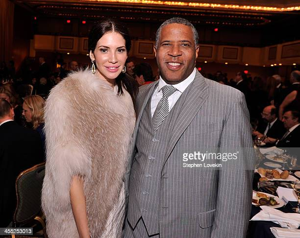 Personality Hope Dworaczyk and Chair of RFK Center Board of Trustees Robert Smith attend Robert F Kennedy Center For Justice And Human Rights 2013...