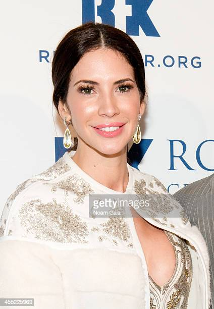 Personality Hope Dworaczyk attends 2013 Ripple of Hope Awards Dinner at New York Hilton on December 11 2013 in New York City