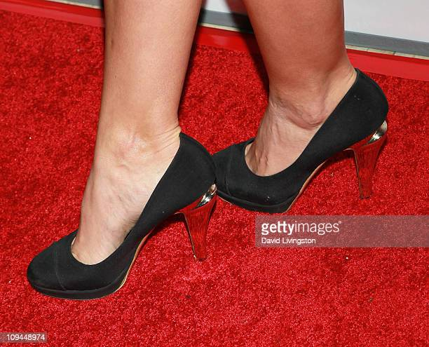TV personality Hope Dworaczyk attends the OK Magazine and BritWeek Oscars party at The London West Hollywood on February 25 2011 in West Hollywood...
