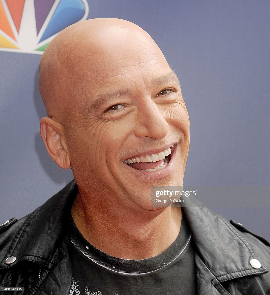 TV personality Howie Mandel arrives at 'America's Got Talent' red carpet event at the Dolby Theatre on April 22, 2014 in Hollywood, California.