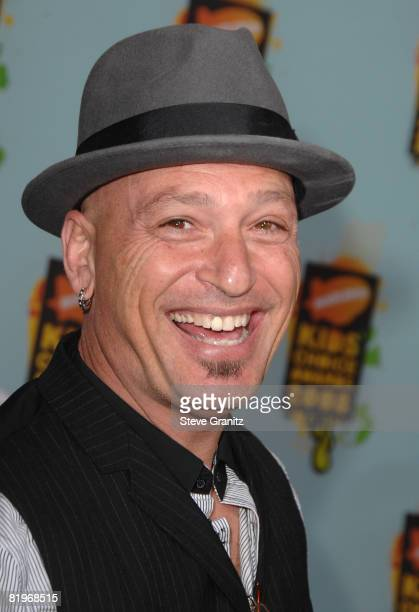 Personality Howie Mandel arrives at Nickelodeon's 2008 Kids' Choice Awards held at the Pauley Pavilion on March 29 2008 in Westwood California