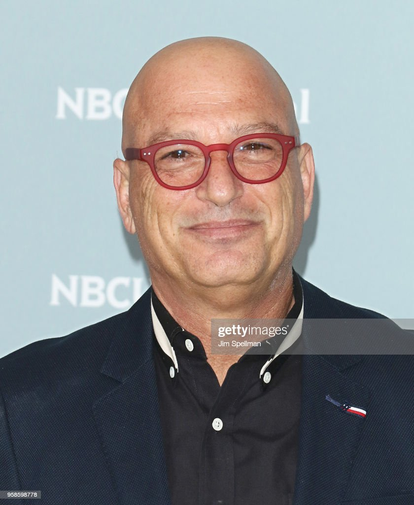 TV personality Howie Mandel attends the 2018 NBCUniversal Upfront presentation at Rockefeller Center on May 14, 2018 in New York City.