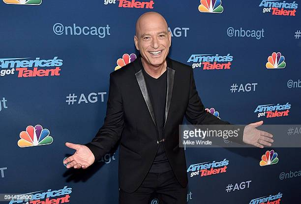Personality Howie Mandel attends the 'America's Got Talent' Season 11 Live Show at Dolby Theatre on August 23 2016 in Hollywood California