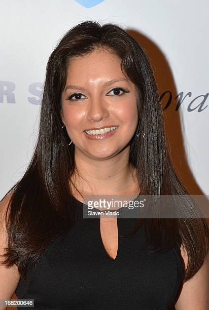 Personality Ines Rosales attends the 12th Annual Women Who Care Luncheon benefiting United Cerebral Palsy on May 6 2013 in New York United States
