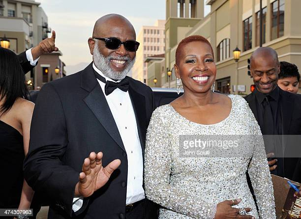 TV personality Iyanla Vanzant and guest attend the 45th NAACP Image Awards presented by TV One at Pasadena Civic Auditorium on February 22 2014 in...