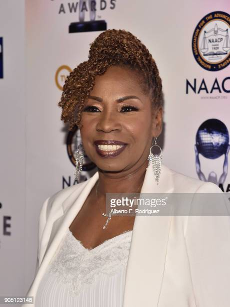 TV personality Iyanla Vanzant attends the 49th NAACP Image Awards NonTelevised Award Show at The Pasadena Civic Auditorium on January 14 2018 in...