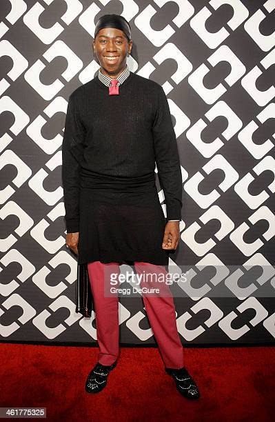 """Personality J. Alexander arrives at Diane Von Furstenberg's """"Journey Of A Dress"""" premiere opening party at Wilshire May Company Building on January..."""