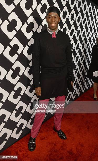 Personality J. Alexander attends Diane Von Furstenberg's Journey of A Dress Exhibition Opening Celebration at May Company Building at LACMA West on...