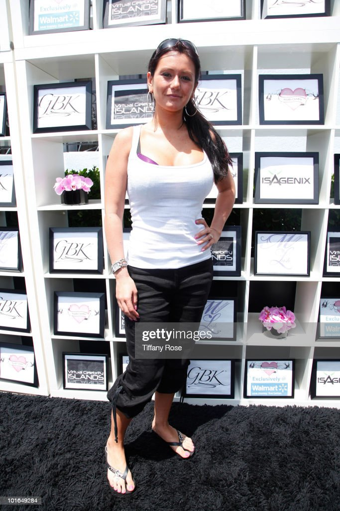 TV personality J Woww attends GBK's Gift Lounge in Honor of the 2010 MTV Movie Awards - Day 2 at The London Hotel on June 5, 2010 in West Hollywood, California.