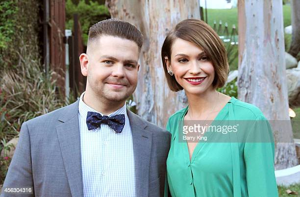 TV personality Jack Osbourne and wife/actress Lisa Stelly attend the annual 'Summer Spectacular Under The Stars' for the Brent Shapiro Foundation for...
