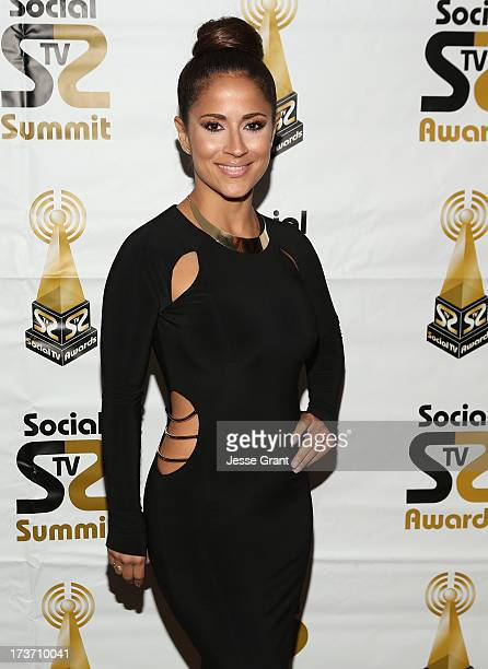 Personality Jackie Guerrido attends the 2nd Annual Social TV Awards at Bel-Air Country Club on July 16, 2013 in Los Angeles, California.