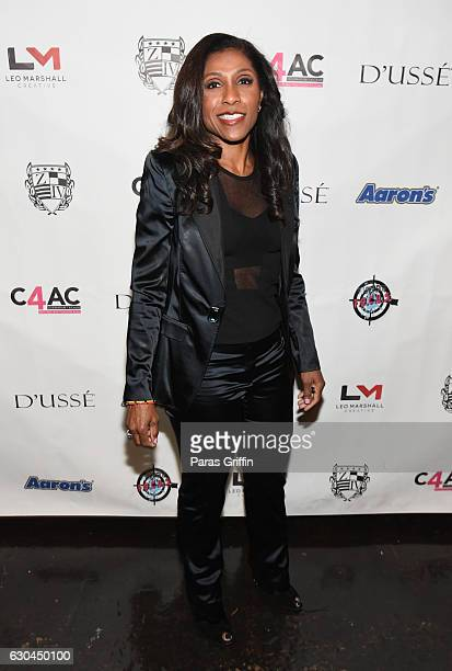 TV personality Jacqueline Waters attends 9th Annual Celebration 4 A Cause Fashion Show at King Plow Arts Center on December 22 2016 in Atlanta Georgia