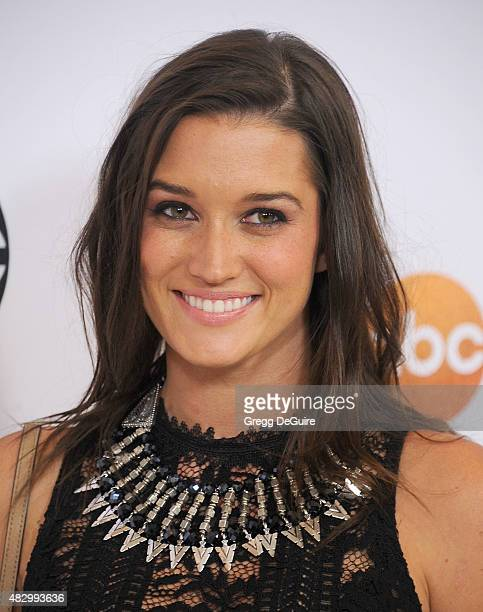 TV personality Jade Roper arrives at the Disney ABC Television Group's 2015 TCA Summer Press Tour on August 4 2015 in Beverly Hills California