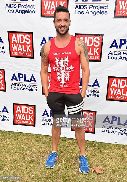 TV personality Jai Rodriguez attends the 30th Annual AIDS Walk Los Angeles on October 12 2014 in West Hollywood California