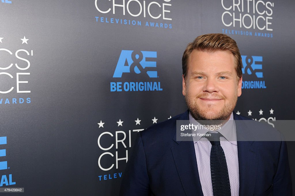 TV personality James Corden attends the 5th Annual Critics' Choice Television Awards at The Beverly Hilton Hotel on May 31, 2015 in Beverly Hills, California.