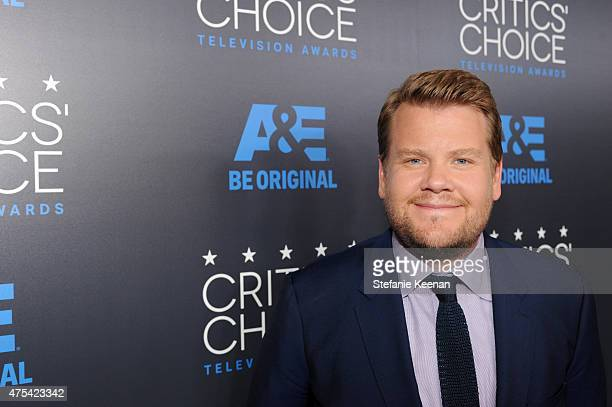TV personality James Corden attends the 5th Annual Critics' Choice Television Awards at The Beverly Hilton Hotel on May 31 2015 in Beverly Hills...