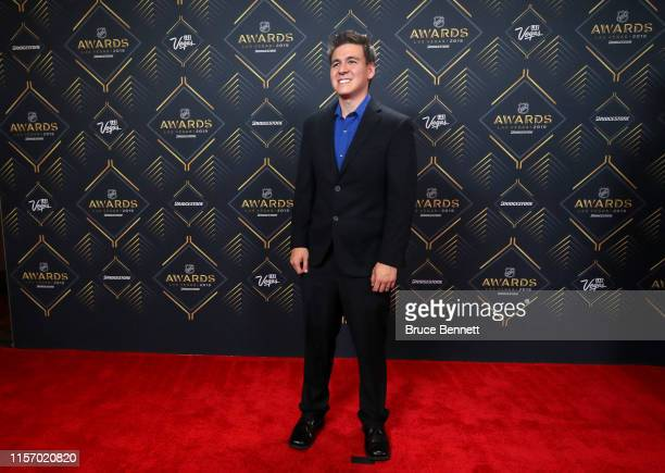 TV personality James Holzhauer arrives at the 2019 NHL Awards at the Mandalay Bay Events Center on June 19 2019 in Las Vegas Nevada