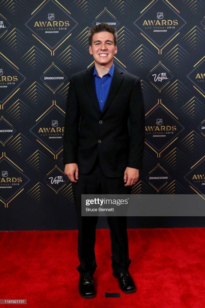 2019 NHL Awards - Arrivals : News Photo