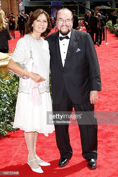 TV personality James Lipton and Kedakai Turner attend the 62nd Annual Primetime Emmy Awards at Nokia Theatre Live LA on August 29 2010 in Los Angeles...