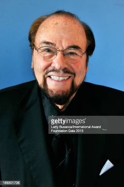 TV personality James Lipton poses for a portrait during The Duke Of Edinburgh's International Award gala dinner at the Essex House on May 22 2013 in...
