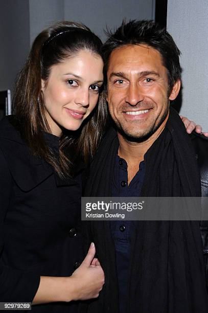 Personality Jamie Durie and Sophie Scarf of Australians in Film attend the Australians In Film Screening Of 'The Road' at the Harmony Gold Theatre on...