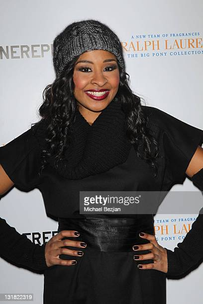 TV personality Janell Snowden attends House Of Hype LIVEstyle Lounge on January 21 2011 in Park City Utah