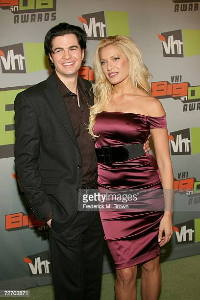TV personality Janelle Pierzina and guest arrive to the VH1 Big in '06 Awards held at Sony Studios on December 2 2006 in Culver City California