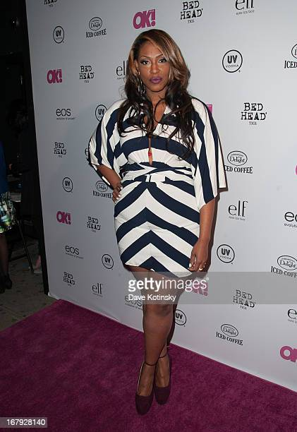 TV personality Jas Fly attends OK Magazine So Sexy Party at Marquee on May 1 2013 in New York City
