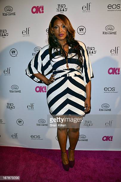 TV personality Jas Fly attends the 2013 OK Magazine So Sexy Party at Marquee on May 1 2013 in New York City