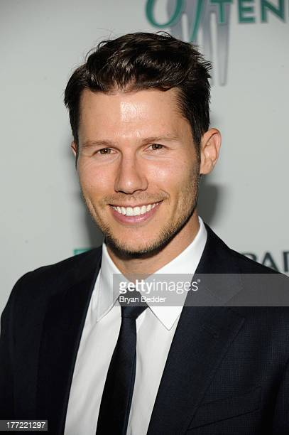 Personality Jason Dundas attends the 14th Annual BNP Paribas Taste Of Tennis at W New York Hotel on August 22, 2013 in New York City.