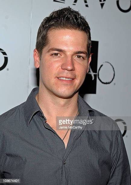TV personality Jason Kennedy attends the TAO and LAVO anniversary weekend held at TAO in the Venetian Resort Hotel Casino on October 3 2009 in Las...