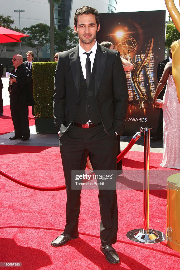 2013 Creative Arts Emmy Awards Ceremony - Arrivals : News Photo