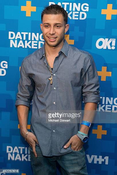TV personality Jay G attends the 'Dating Naked' series premiere at Gansevoort Park Avenue on July 16 2014 in New York City