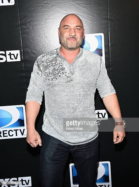 TV personality Jay Glazer attends DirecTV Super Saturday Night hosted by Mark Cuban's AXS TV and Pro Football Hall of Famer Michael Strahan at...