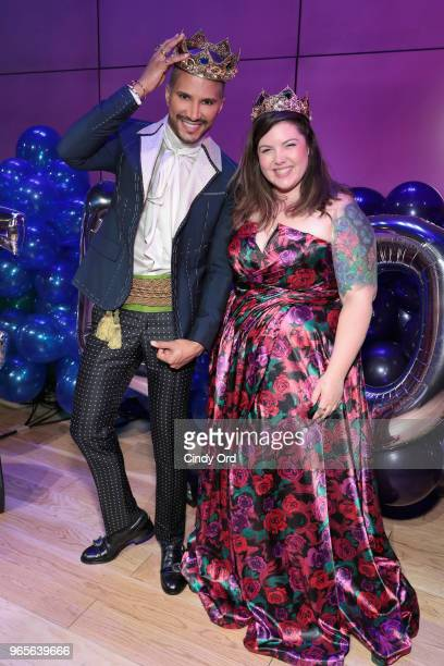 TV personality Jay Manuel and singer Mary Lambert attend as BuzzFeed hosts its 2nd Annual Queer Prom Powered by Samsung For LGBTQ Youth at Samsung...