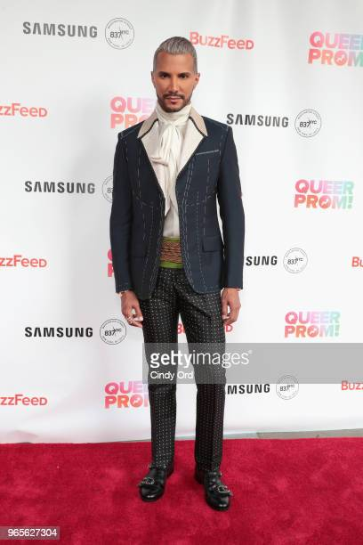 TV personality Jay Manuel attends as BuzzFeed hosts its 2nd Annual Queer Prom Powered by Samsung For LGBTQ Youth at Samsung 837 on June 1 2018 in New...